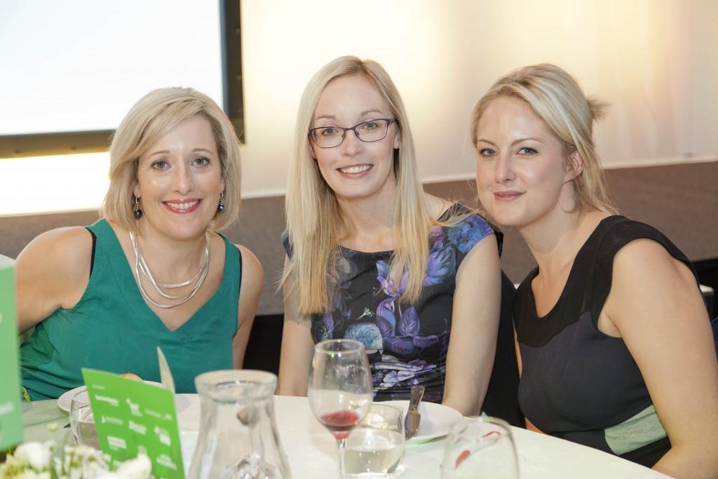 Anna Melton, Emma Loughlin, Dani Munn of In the Works PR